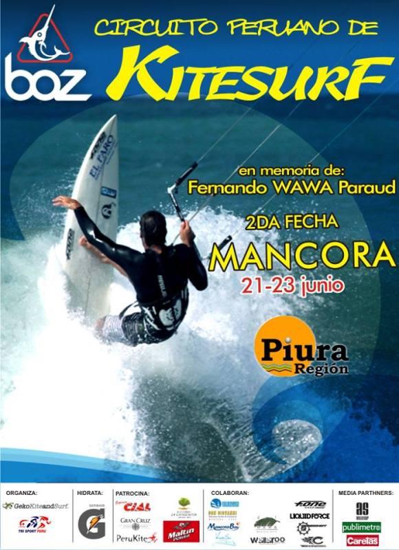 circuito nacional peruano de kitesurf